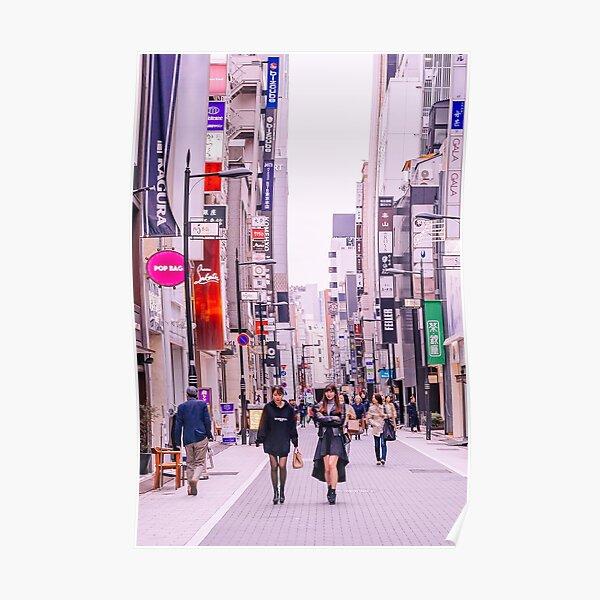 Tokyo - Une journée à Ginza Poster