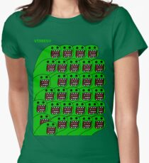 Domo-esque  Womens Fitted T-Shirt