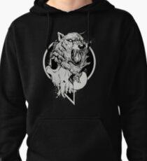 Inktober Wolf  Pullover Hoodie