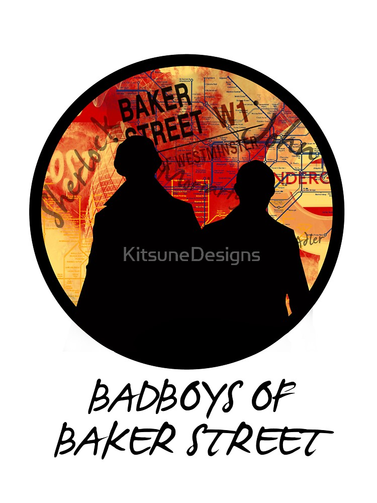 Bad Boys of Baker Street Modern Edition (Black) by KitsuneDesigns