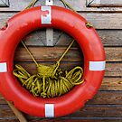 Eminönü SOS: a lifebuoy at the ferry dock by Marjolein Katsma