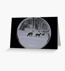 Cindy's Snow Globe's 8 Greeting Card