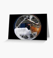Cindy's Snow Globe's 10 Greeting Card