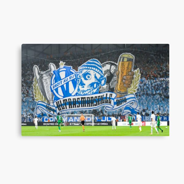 Tifo Olympique de Marseille t-shirt Canvas Print