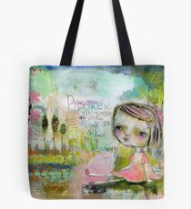 Heartbeat of Creation Tote Bag