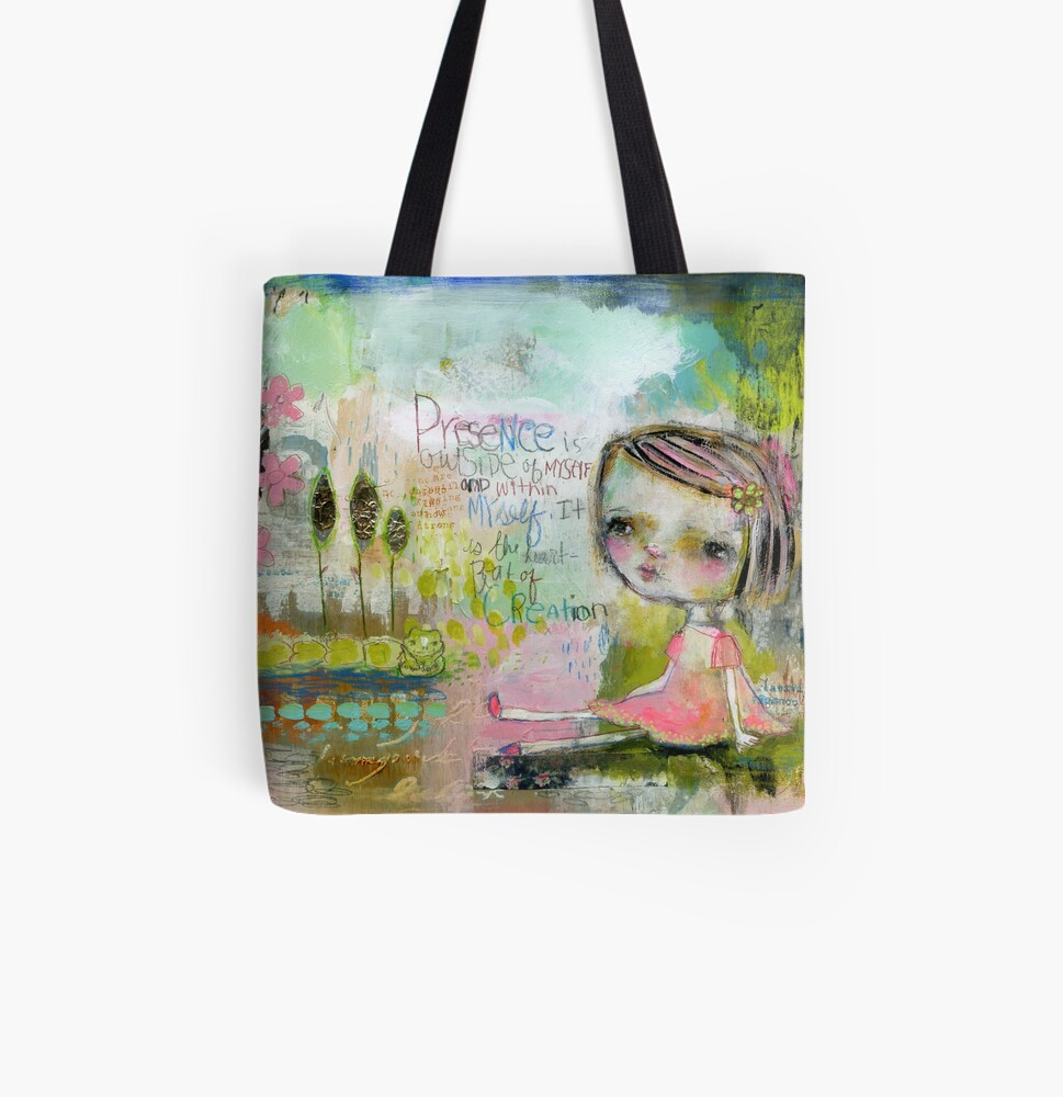 Heartbeat of Creation All Over Print Tote Bag