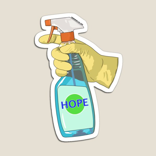 HOPE sticker  Magnet