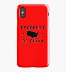 Property of China (sport version) iPhone Case