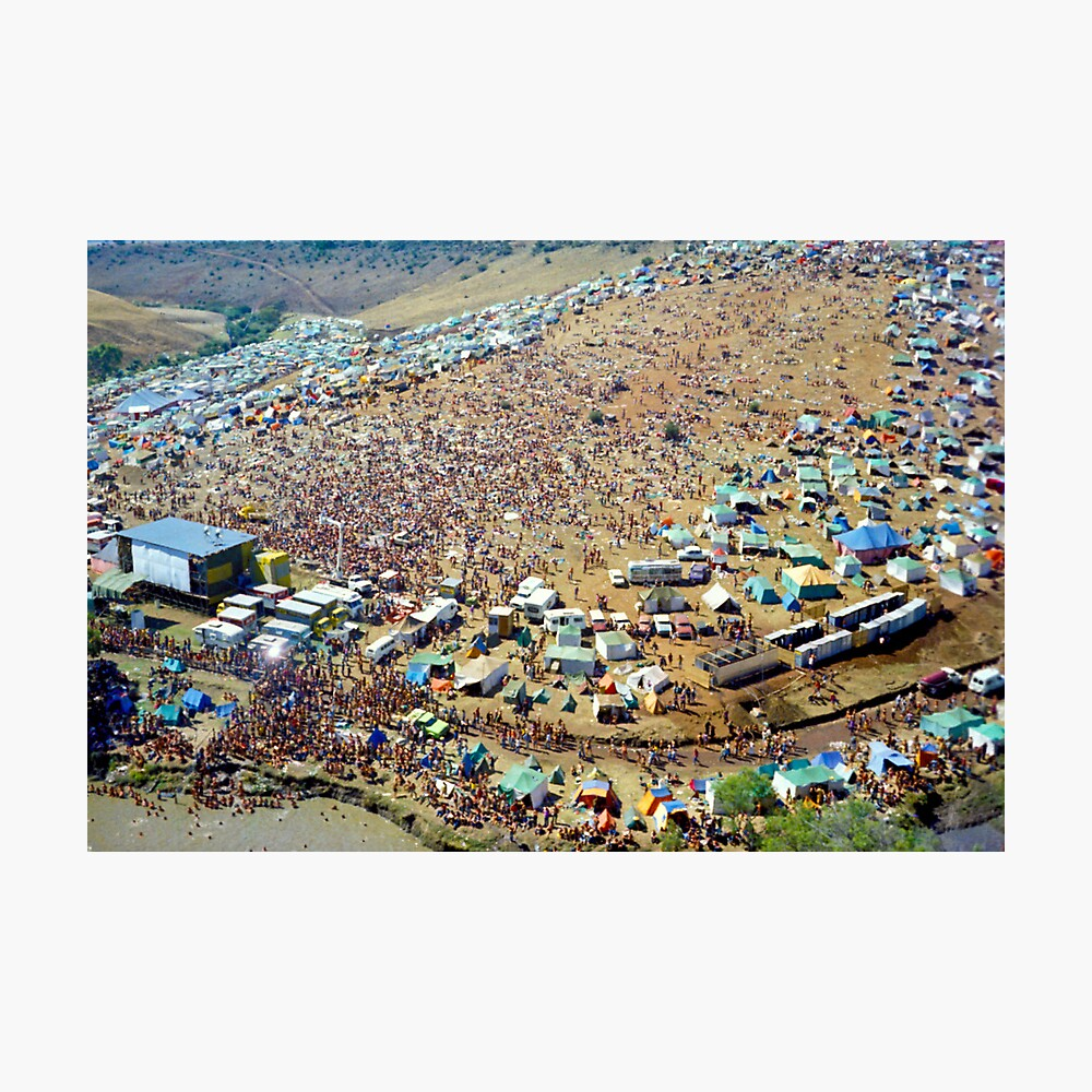Sunbury Music Festival Photographic Print
