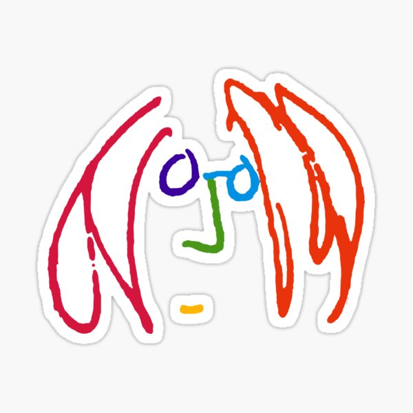 Imagine Doodle Sticker