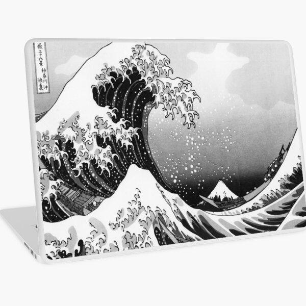 Great Wave: Monochrome Laptop Skin