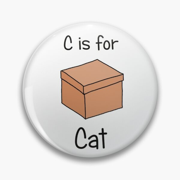 C is for Cat Pin