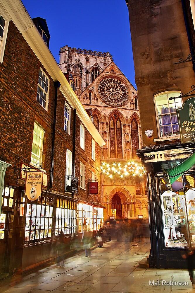 A York Christmas by Mat Robinson
