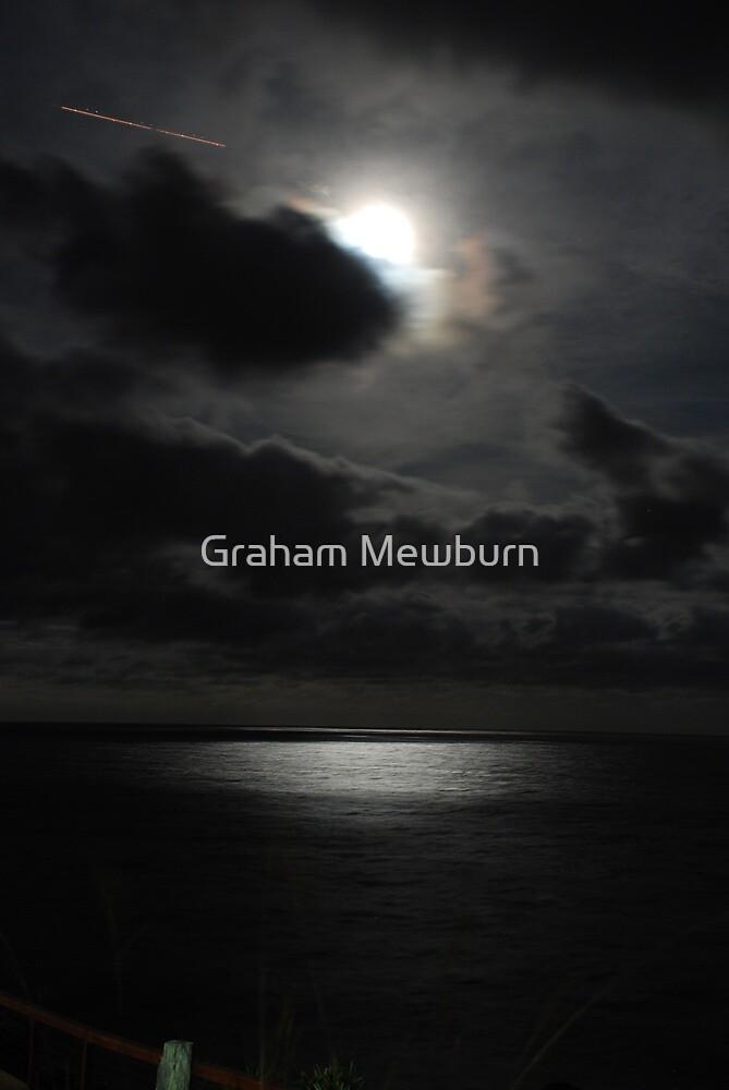 Full Moon Over Point Danger by Graham Mewburn