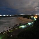 Duranbah Beach at Night by Graham Mewburn