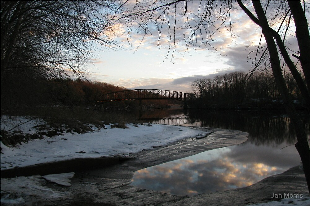 Connecticut River Sunset by Jan Morris