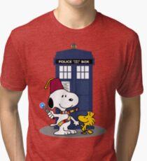 Snoopy Who. Tri-blend T-Shirt