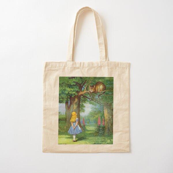 Chesire Cat Cotton Tote Bag