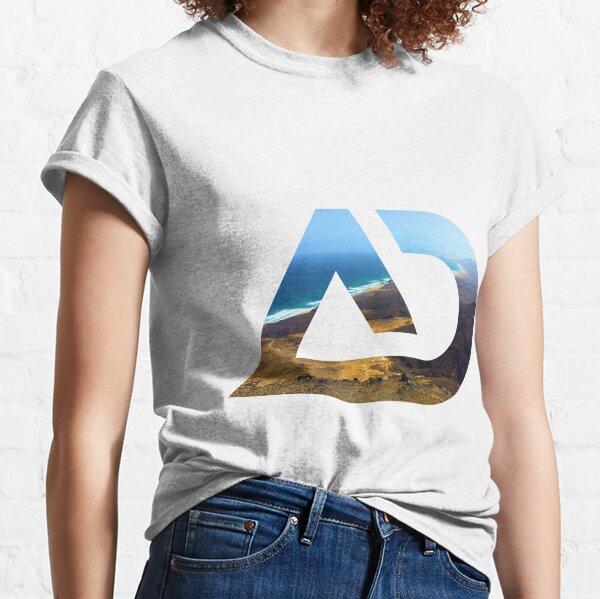 Fuerteventura Cofete beach view Classic T-Shirt