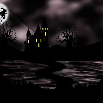 The Haunted Castle by zhane