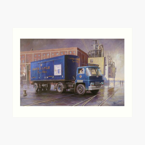 Tate and Lyle's Guy Warrior Art Print