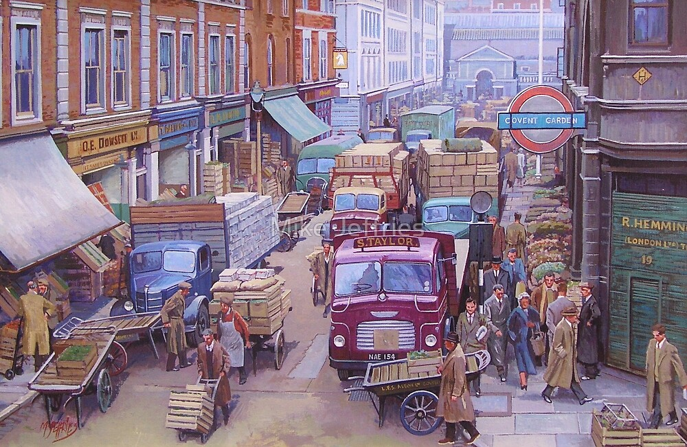 Covent Garden market. by Mike Jeffries