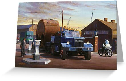 Pickfords' Diamond T by Mike Jeffries