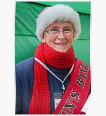 A Christmas Smile ~ Bridport Poster