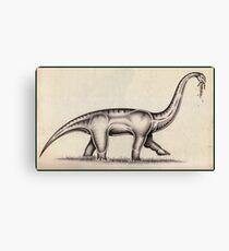 The Sauropod Canvas Print