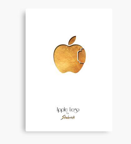 Apple Lego Canvas Print