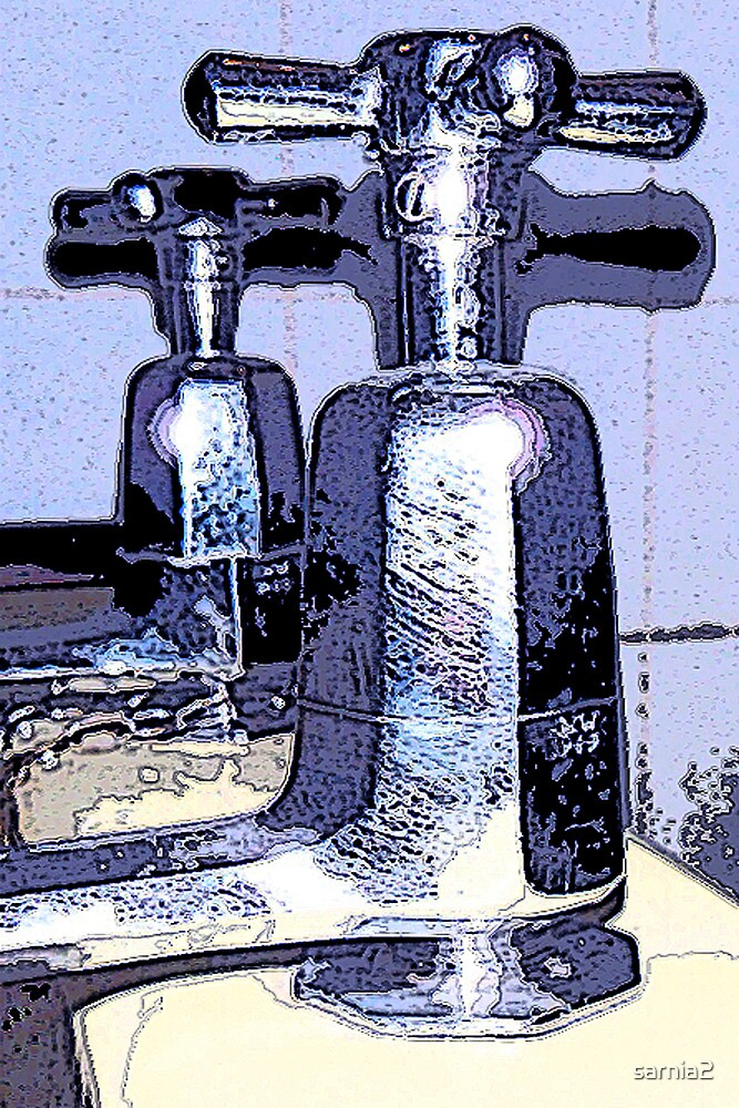 Ancient Tap Art by sarnia2