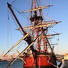 HMS Endeavour by Nigel Donald