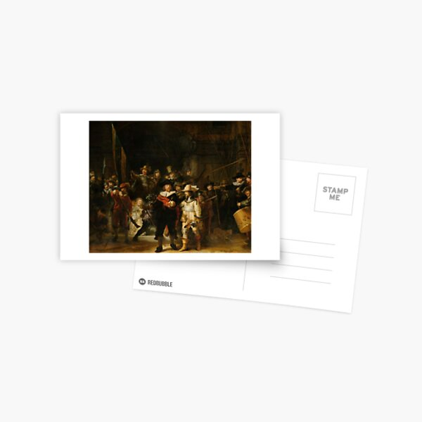 The Nightwatch by Rembrandt van Rijn ( Nachtwacht ) Postcard