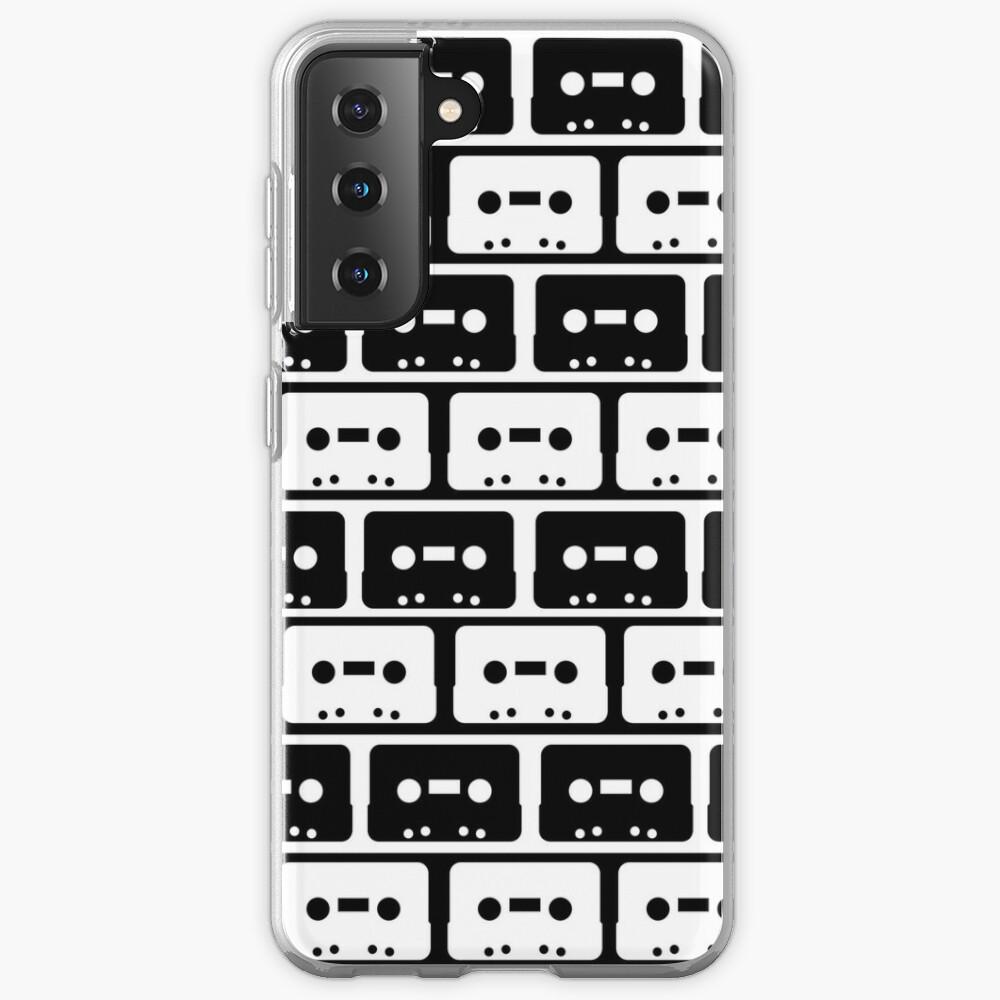 Cassettes Black Case & Skin for Samsung Galaxy