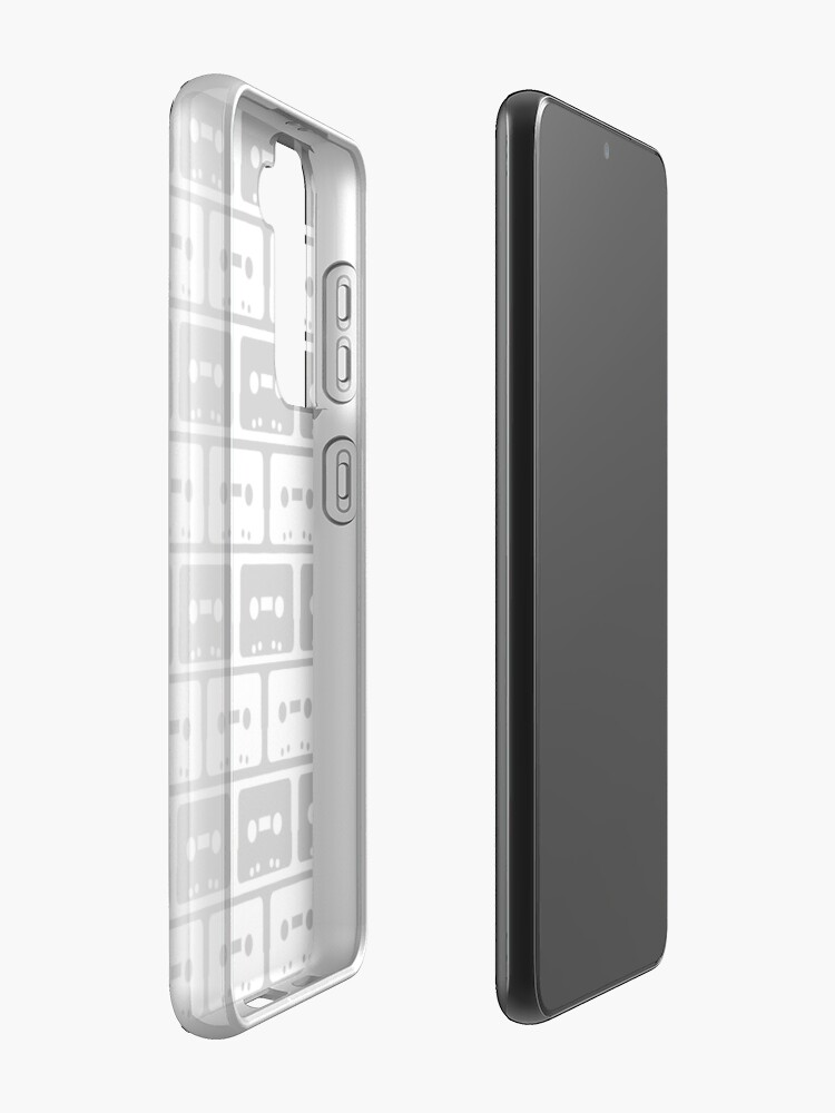 Alternate view of Cassettes Black Case & Skin for Samsung Galaxy
