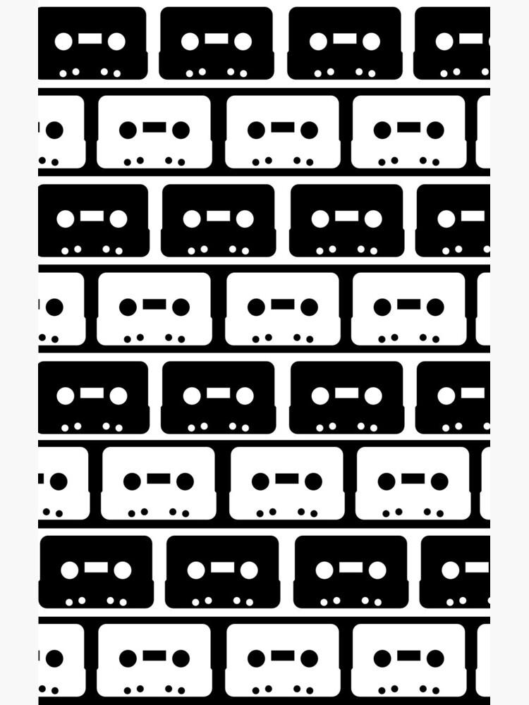 Cassettes Black by rapplatt