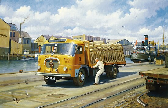 Christoper Hill's Seddon by Mike Jeffries