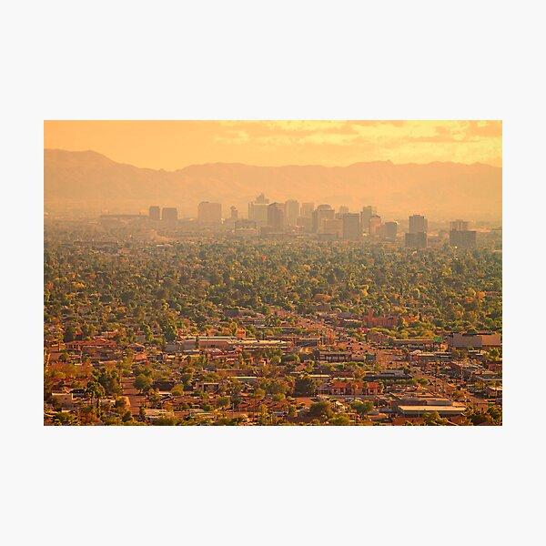 Phoenix Valley Of The Sun Photographic Print