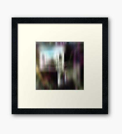 Decoblur Framed Print
