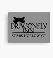 Dragonfly Inn shirt - Gilmore Girls, Stars Hollow, Lorelai, Rory Canvas Print