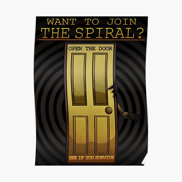the magnus archives - the spiral recruitment poster Poster