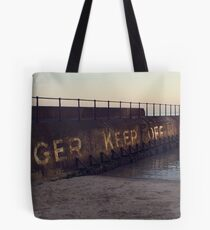 Danger Keep Off Tote Bag