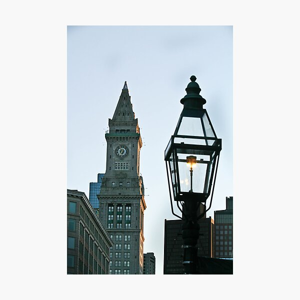 Two Steeples Photographic Print