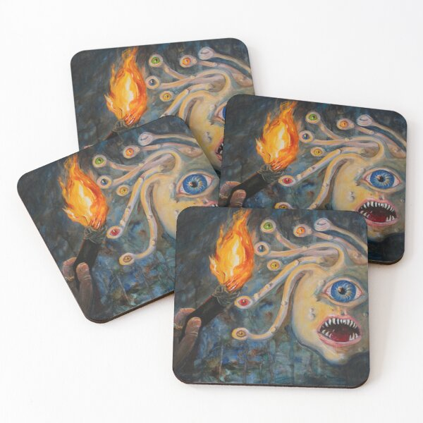 Eye of the Beholder Coasters (Set of 4)