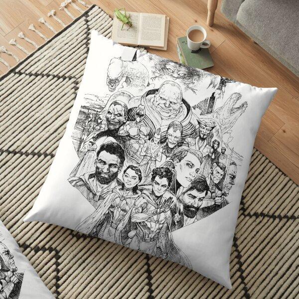 DUNE Characters  Floor Pillow