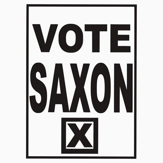 TShirtGifter presents: Vote Saxon
