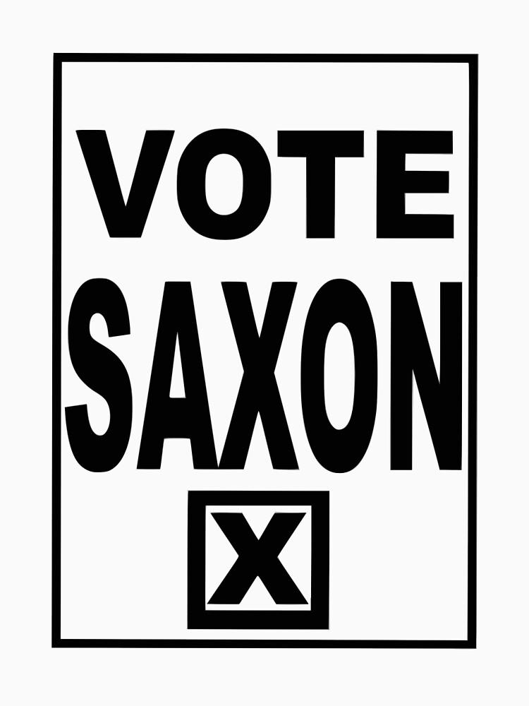 Vote Saxon by SuperGeek7191