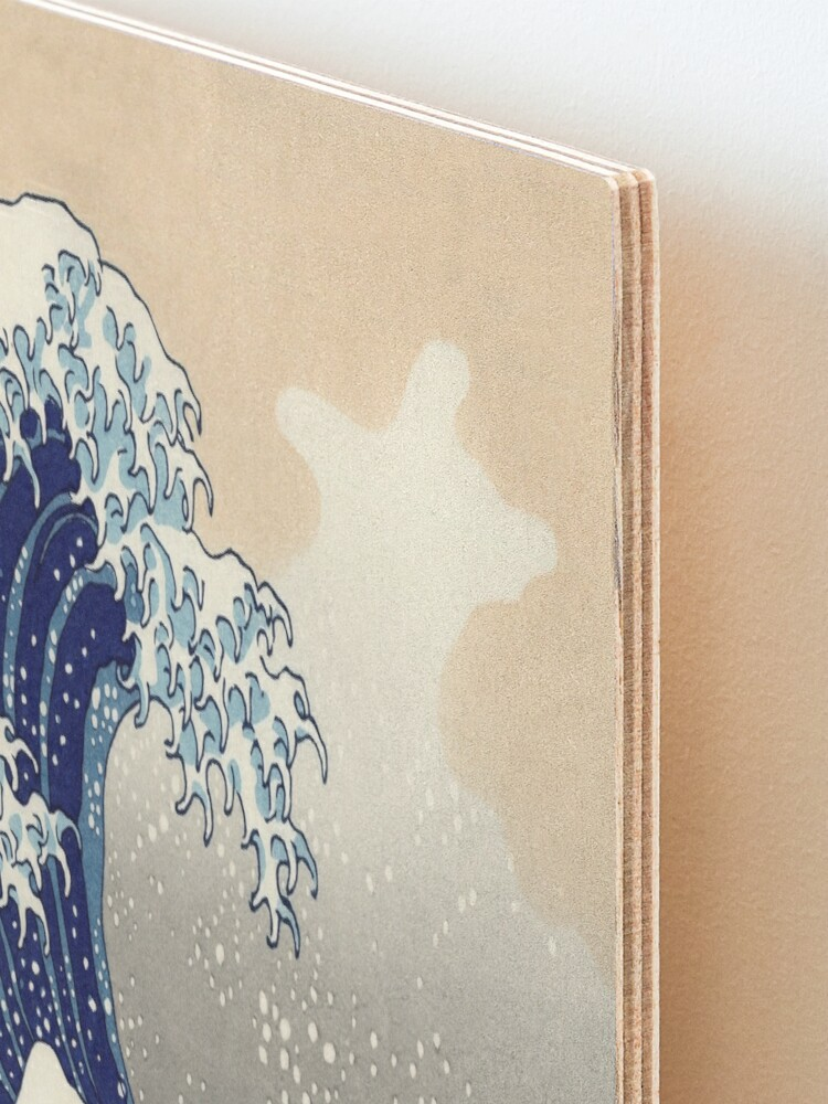 Alternate view of Great Wave Mounted Print