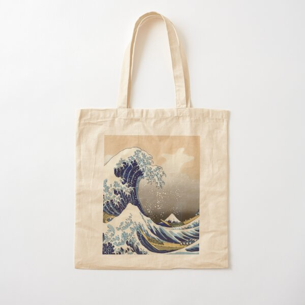 Great Wave Cotton Tote Bag