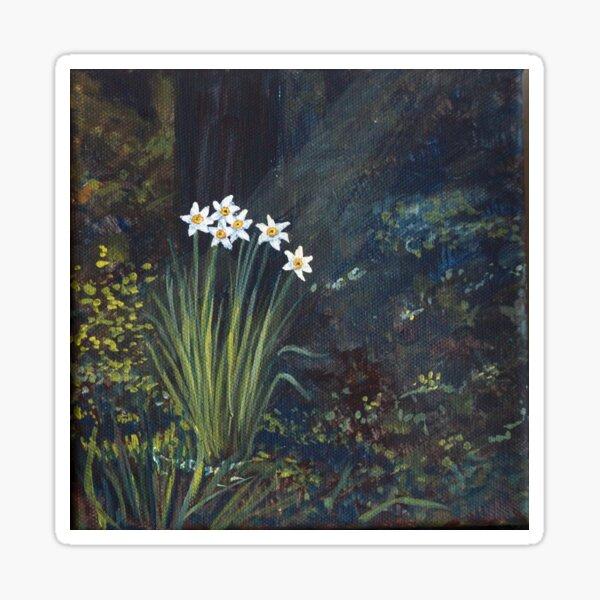 Stars in Shadow Shimmering: Daffodil Sticker